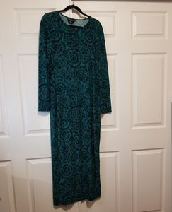 Elegant kamalikulture long dress
